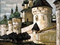 Н.К.Рерих. Ростов Великий. 1903.