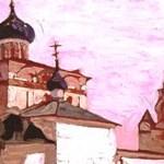 Н.К.Рерих. Ярославль. Церковь Рождества Христова. 1903.