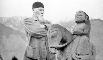 Н.К.Рерих в долине Кулу