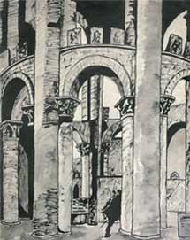 Ю.Н. Рерих. В замке. 1917 – 1918