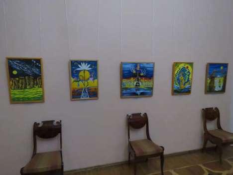 Некоторые из работ Талимоновой