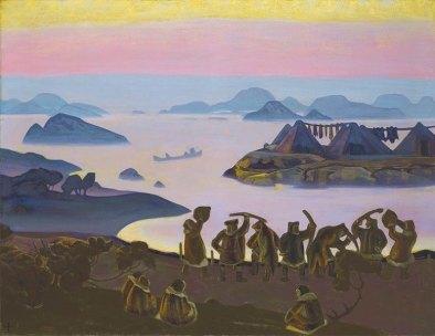 Картина Николая Рериха «Ярилины зовы» , 1919 г.