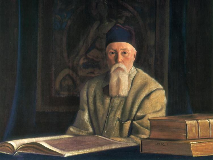 С.Н.Рерих. Портрет академика Н.К.Рериха. 1937
