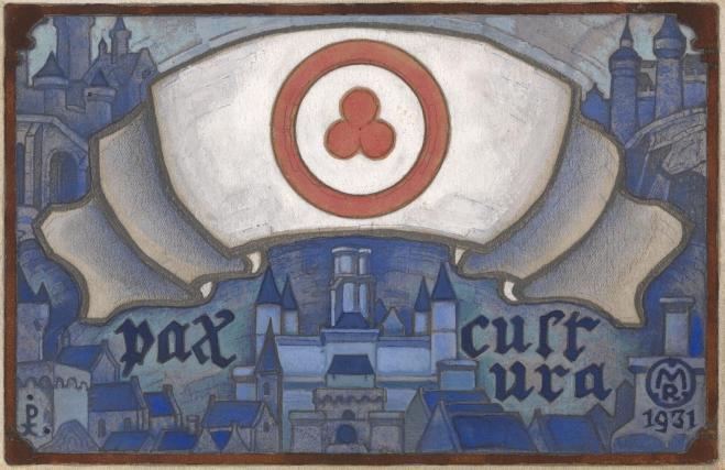 Николай Рерих «Знамя Мира. Pax cultura» 1931 г.