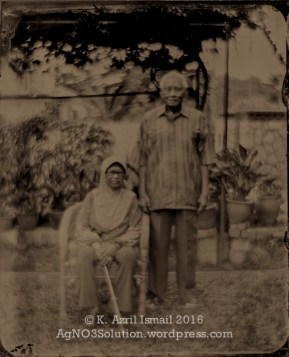 Tuan Abdul Hai & his wife, Puan Azizah Kamal