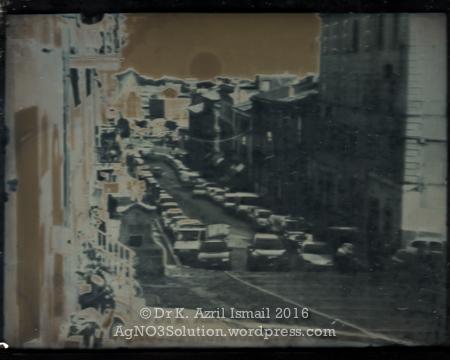 Nemi, Rome - Daguerreotype