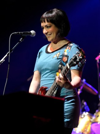 Jane Wiedlin at Roseland, 2013.