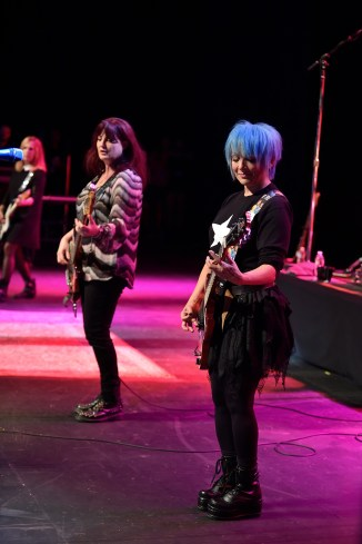 Jane Wiedlin and Abby Travis