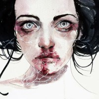 Ethereal Atheistic of Watercolor Portraits by Agnes Cecile