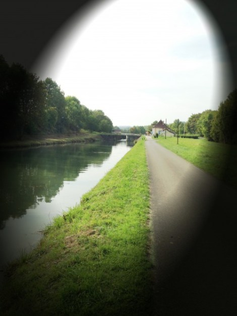 Canal perspective