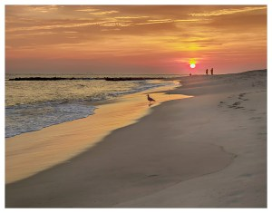 Cape May's End of Day