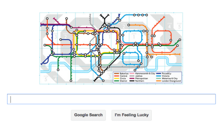 HAPPY BIRTHDAY LONDON UNDERGROUND