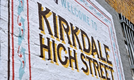 KIRKDALE BRANDING & GHOST SIGN MURALS