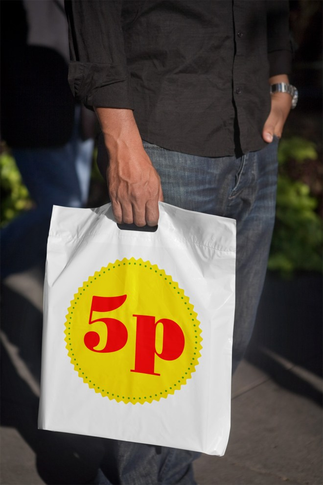 Bags are now 5p.