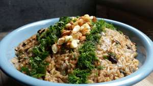 Selvas Summer Rice Pilaf Recipe