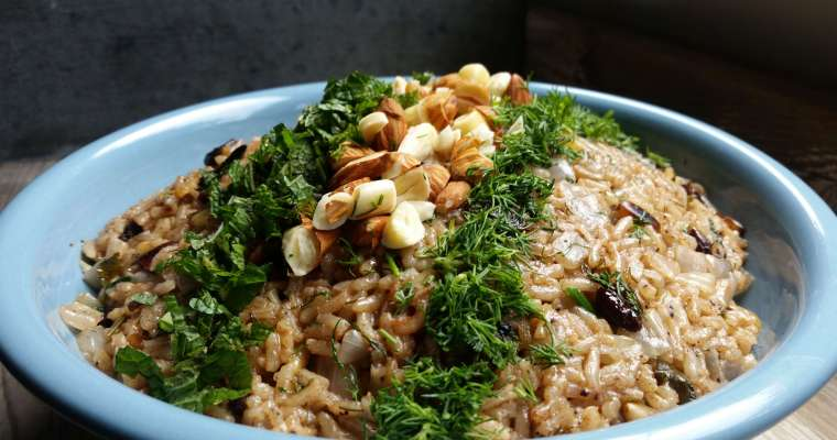 Selva's Summer Rice Pilaf Recipe