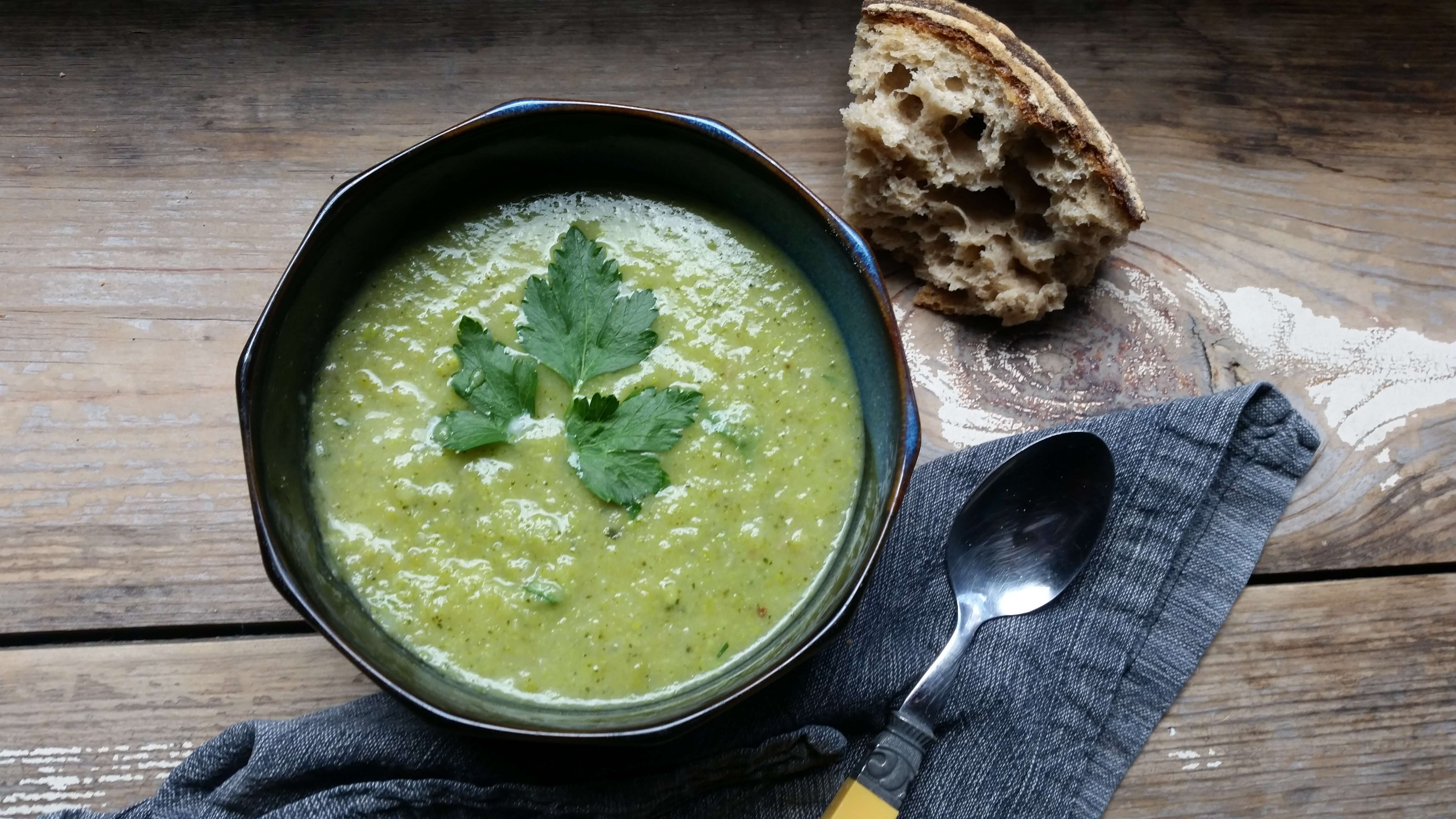 Broccoli Leek Soup Recipe