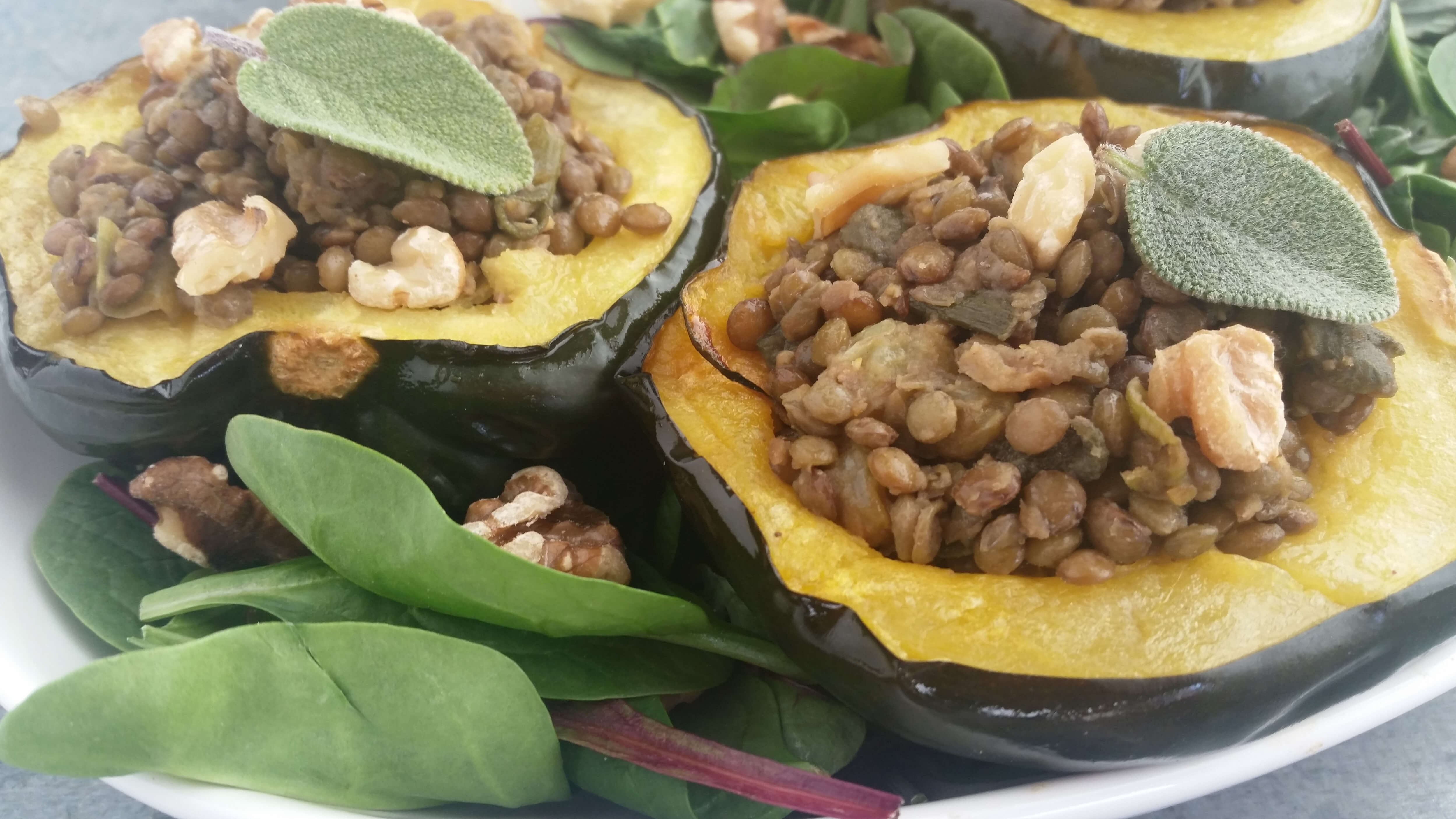 French Lentils Recipe with Sage Brown Butter