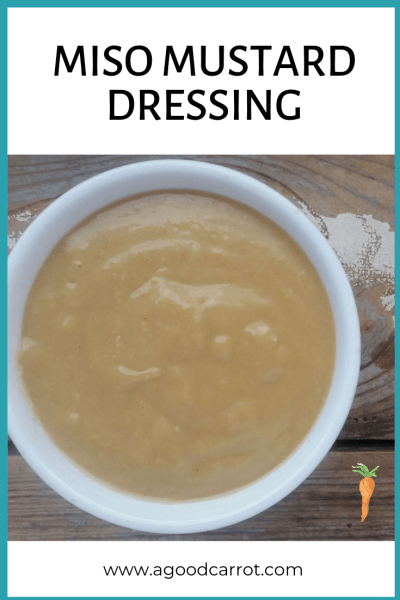 miso mustard dressing, miso recipes, miso dressing recipe, miso dressing salad