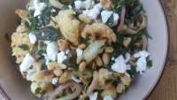 Cauliflower Salad Recipe with Dates and Mint, vegetable recipes, healthy dinner recipes, clean eating recipes, Easy salad recipe, weekly meal plans