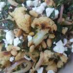 Cauliflower Salad Recipe with Dates and Mint