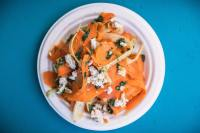carrot salad recipe with za-atar spice and parsley-mint pesto