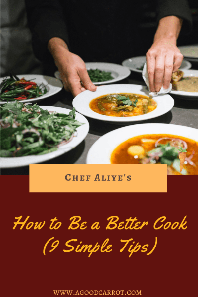 be a better cook, better cooking tips