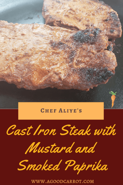 cast iron steak recipe, Weekly Meal Plans, Clean Eating Recipes, Healthy Dinner Recipes, Recipes for Dinner