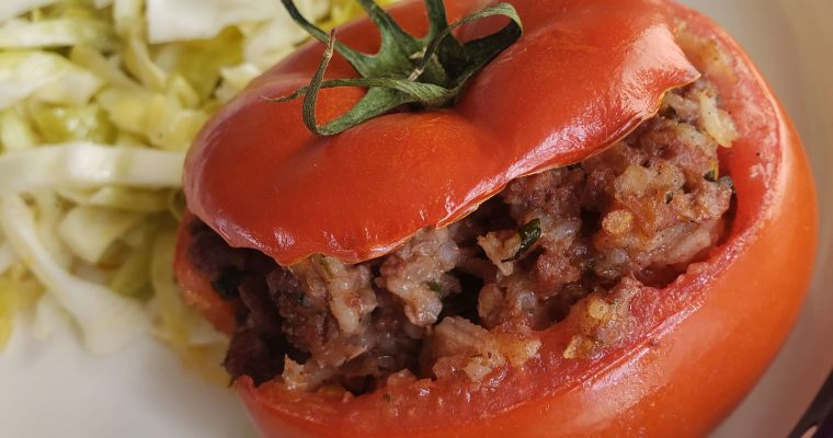Turkish-Style Stuffed Tomato Recipe