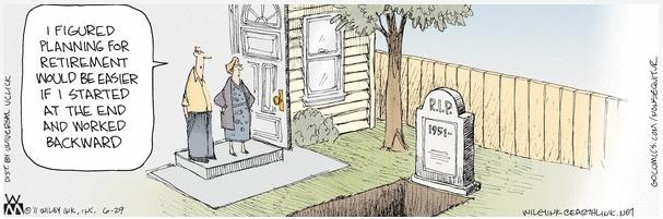 Non Sequitur Funeral Planning Cartoon