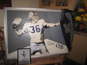 "Painting: ""The QB"""
