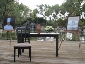 Matthus Hoelzel memorial service setting