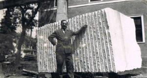 Jack Katzman and stone