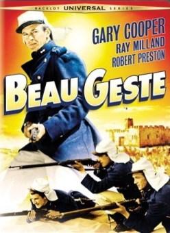 Beau Geste DVD cover