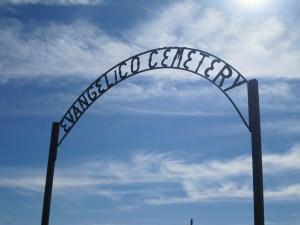 Evangelico Cemetery Gate