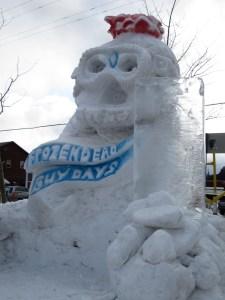 FDGD Snow Sculpture