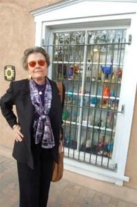 Connie Gotsch Looking Good on Mesilla Plaza