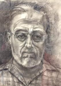 Ernest Garcia self-portrait