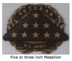 5 inch medallion