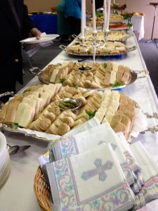 Luncheon buffet