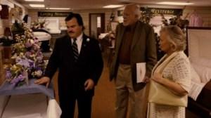 Bernie Casket Shopping