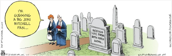 Both Sides Now Headstone