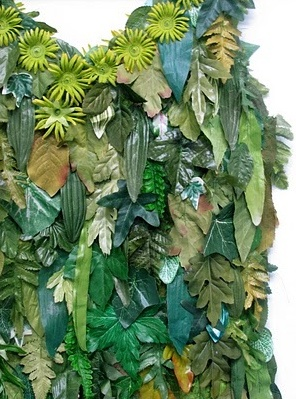 Leaf Dress Close Up