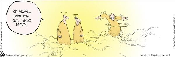 Halo Hula Cartoon