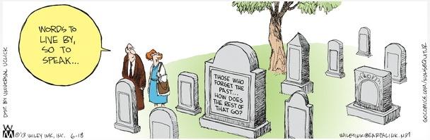 Non Sequitur Headstone
