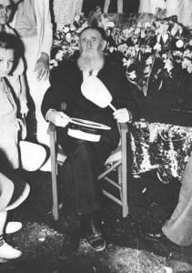 Felix Bush Breazeale at his living funeral.