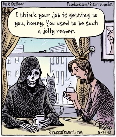 Bizarro ex Jolly now Grim Reaper