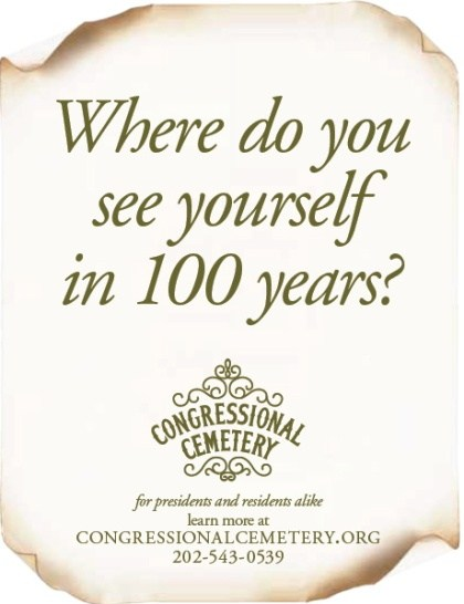 Congressional Cemetery Ad