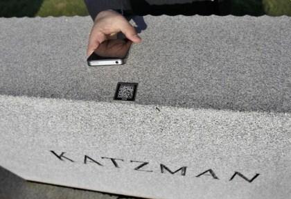 Katzman QR Code Monument