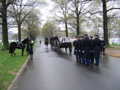 Military Funeral at Arlington Cemetery